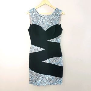 BCBG MaxAzria Sleeveless Lace Size 8 Bandage Dress